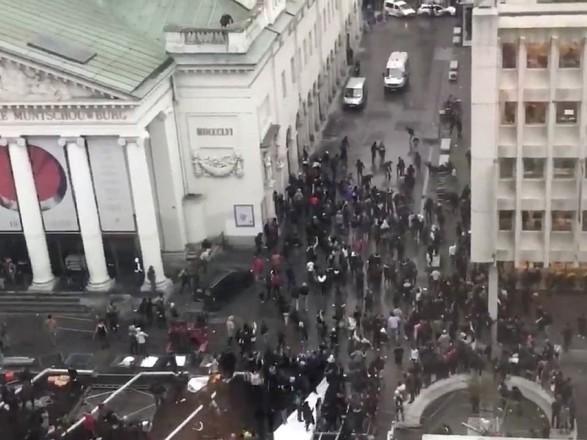 ВІДЕО (ОНОВЛЕНО): УБрюсселі влаштували сутички
