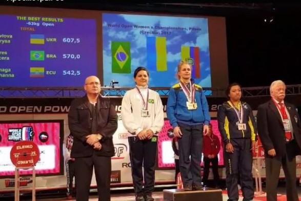Красноярец стал чемпионом мира попауэрлифтингу