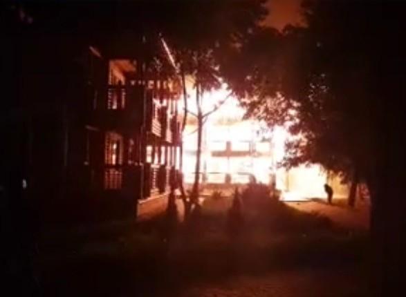 Поліція назвала причину пожежі втаборі «Вікторія»