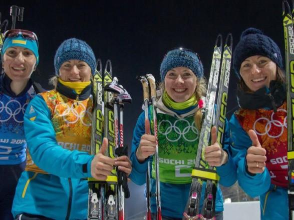 Украинские биатлонистки удачно выступили впервой гонке сезона