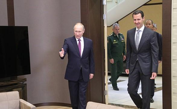 Путін заявив, що військова операція вСирії завершується