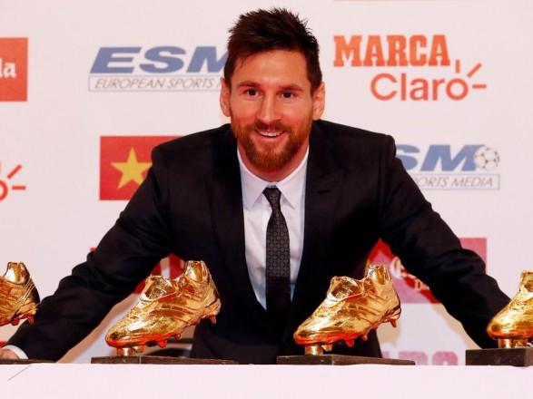 Мессі отримав четверту «Золоту бутсу» зрук партнера по«Барселоні»