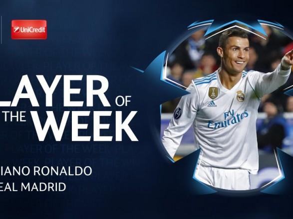 Криштиану Роналду иНеймар претендуют название игрока недели вЛиге чемпионов