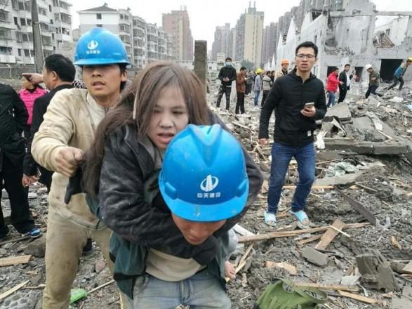 Укитайському місті Нінбо стався вибух