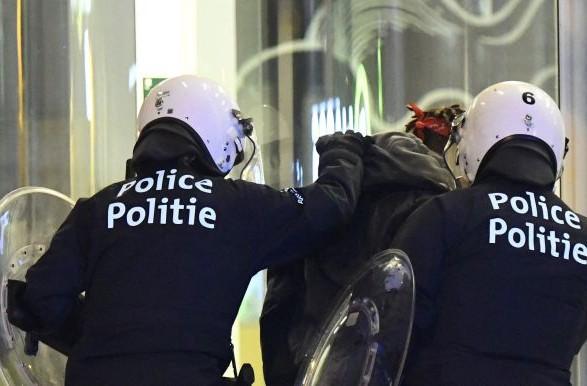 УБрюсселі після демонстрації проти рабства затримали близько 100 осіб