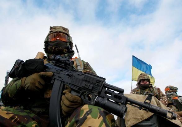 Боевики обстреляли иззенитной установки позиции ВСУ около Гнутово— Штаб АТО