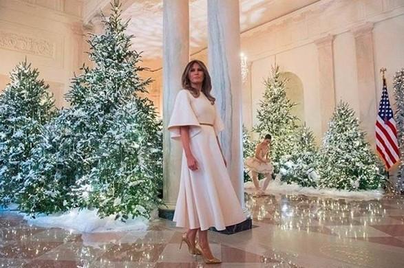 Білий Дім прикрасили до Різдва
