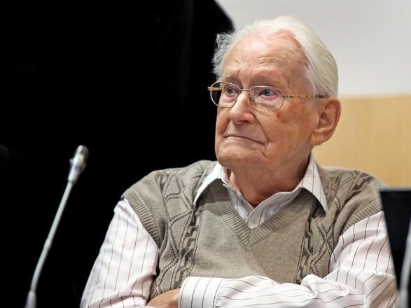 Німеччина відправила заграти 96-річного офіцера, який служив вОсвенцимі