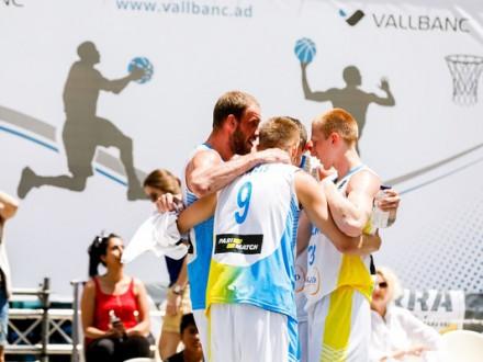 Україна залишилась в топ-5 світового рейтингу з баскетболу 3х3