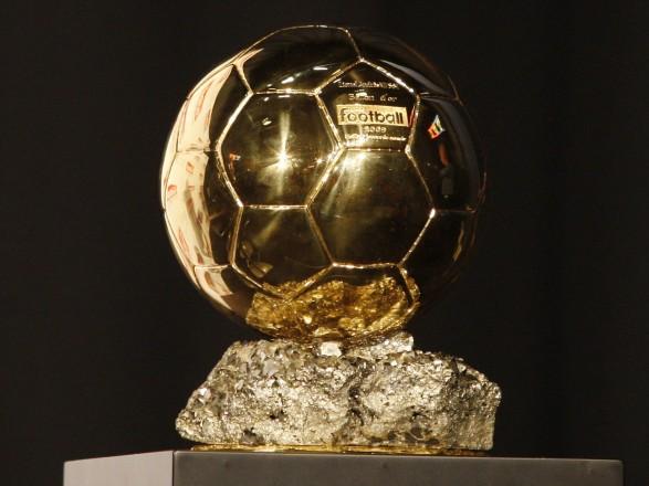 Церемонія вручення «Золотого м'яча» пройде наЕйфелевій вежі