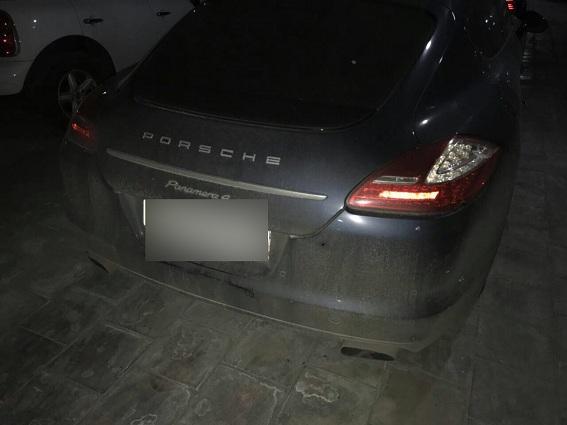 УКиєві розстріляли автомобіль лідера «Динамо»