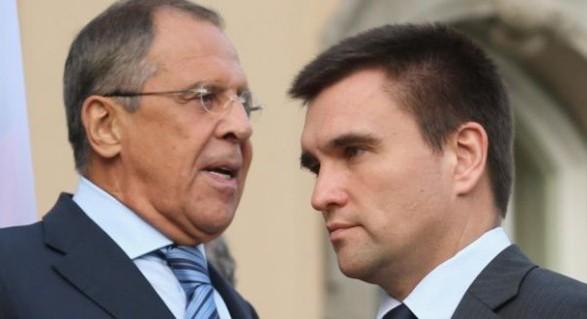 Клімкін планує на зустрічі із Лавровим говорити про українських політв'язнів