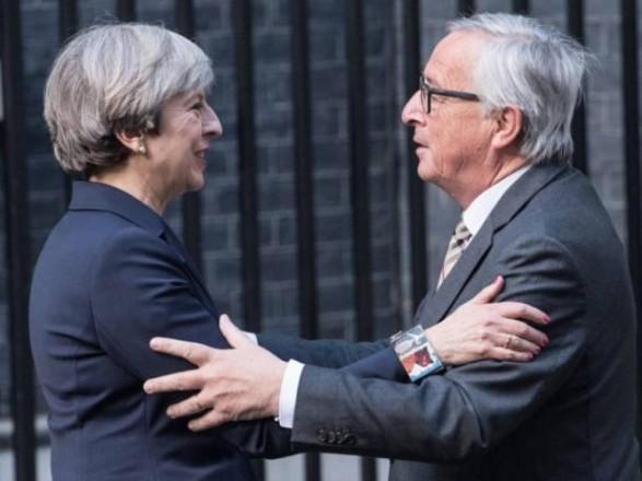 Мей і Юнкер провели екстрену зустріч щодо Brexit
