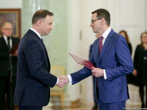 Призначено нового прем'єр-міністр Польщі