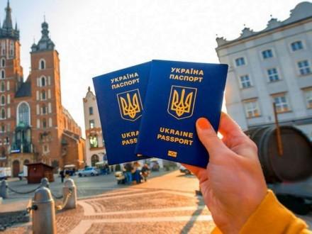 За півроку безвізом з ЄС скористалися 355 тисяч українців