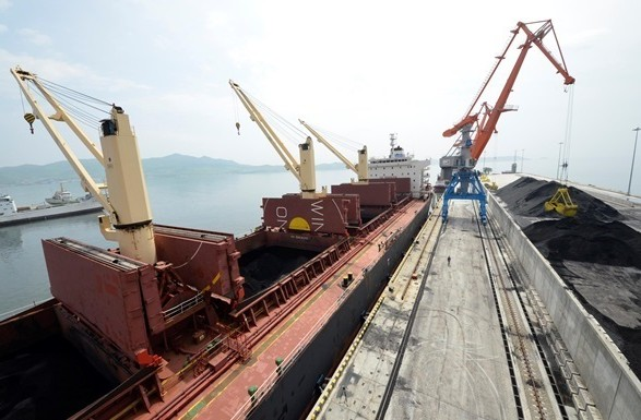 ВУкраїну прибула чергова партія вугілля із ПАР
