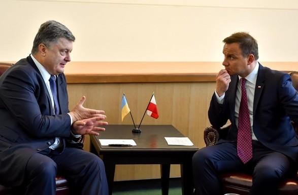 Дуда: Польща має чітку позицію щодо миротворців ООН наДонбасі