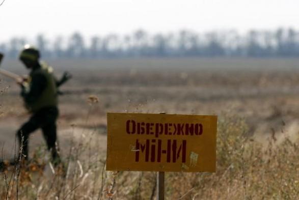 Агентура зафиксировала установку боевиками кассетных мин вОРДЛО