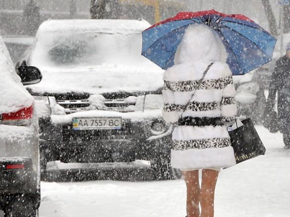 ДоУкраїни йдуть морози, місцями очікуються сильні хуртовини