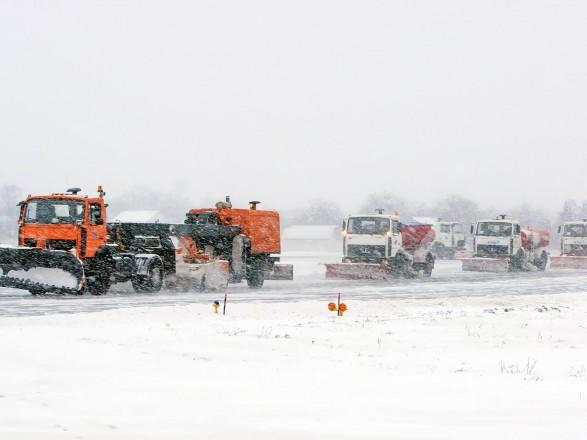 Негода вКиєві: рейси заеропорту «Київ» перенаправляють у«Бориспіль»