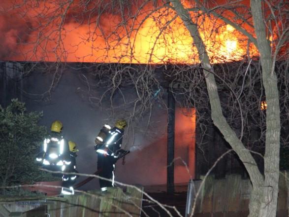 Потужна пожежа узоопарку Лондона: з'явилися подробиці і фото