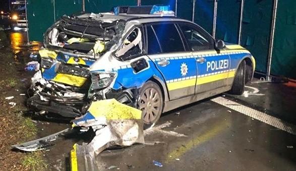 У Німеччині фура зУкраїни потрапила ваварію, загинула поліцейська