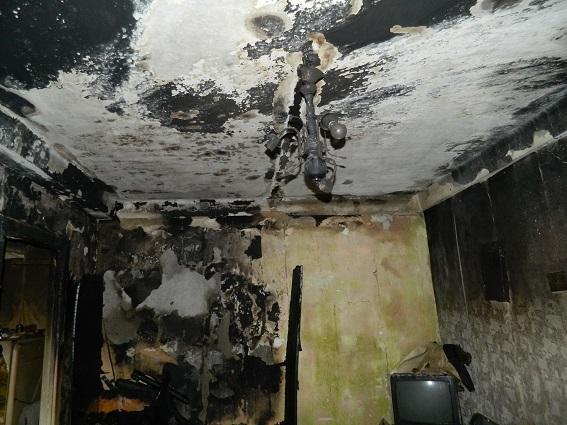 Мужчина в Киеве поджег квартиру, чтобы скрыть убийство