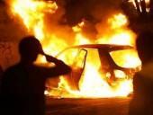 На предприятии в Киеве сгорели три иномарки