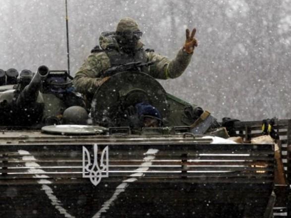 Минулої доби у зоні АТО один військовослужбовець ЗСУ зазнав поранення