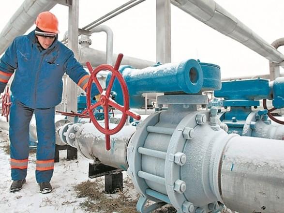 Мороз наулице заставил Украинское государство сжигать вдва раза больше газа