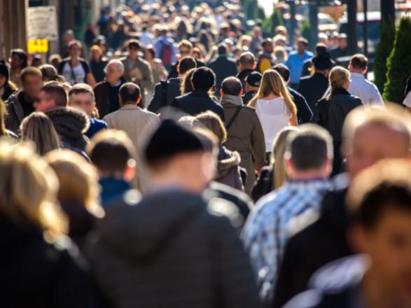 Населення України суттєво зменшилось у2017 році