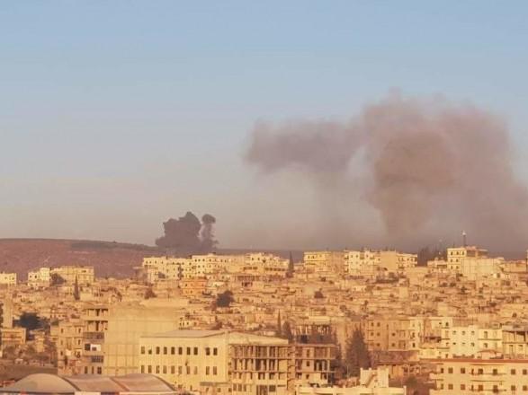 Курдские сирийские отряды заявили о девяти погибших в результате бомбардировок Турцией района Африн