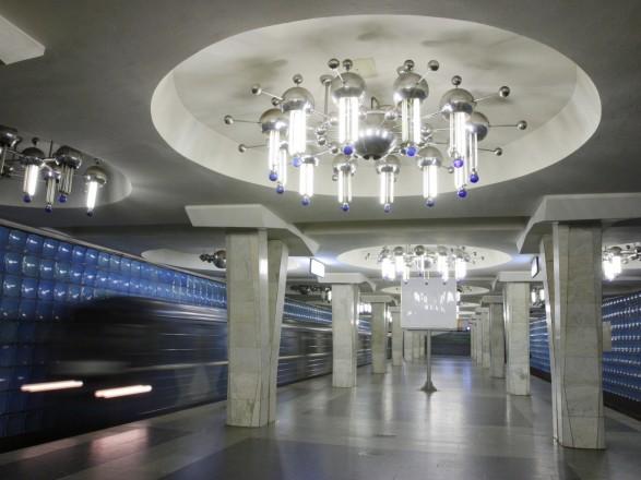 вода работа на станции метро горьковская лестничной площадки