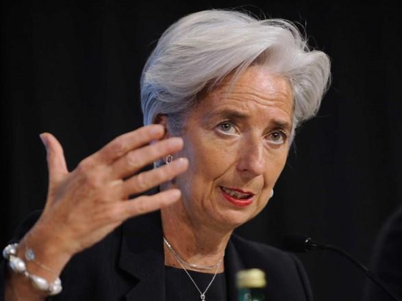 Порошенко провів переговори зЛагард і сподівається наефективну співпрацю зМВФ