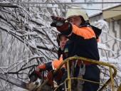 Непогода в Украине: без света до сих пор 25 городов и сел