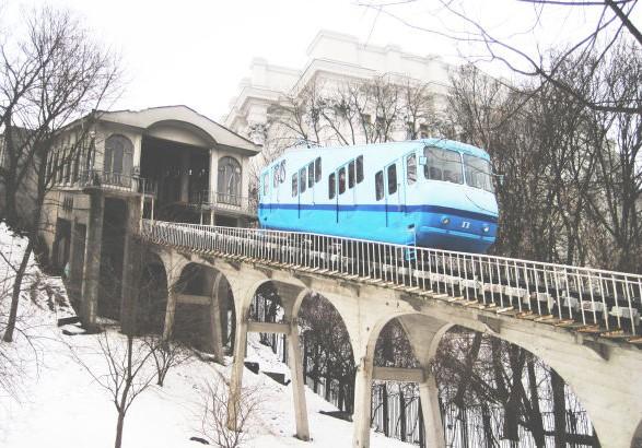 Київський фунікулер зупинений через технічні причини