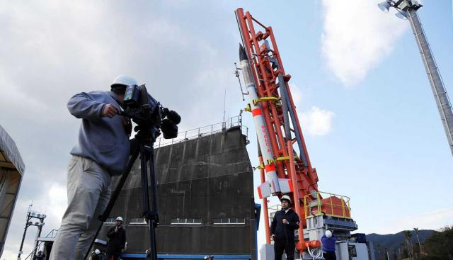 Японія запустила найменшу усвіті ракету (ВІДЕО)