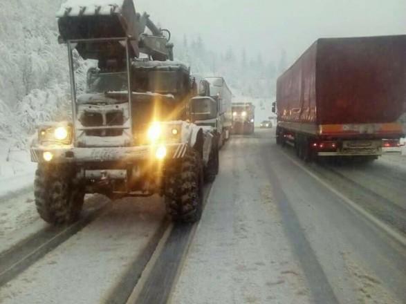 Негода наЗакарпатті: знеструмлено села тазатори наперевалах / ФОТОФАКТ