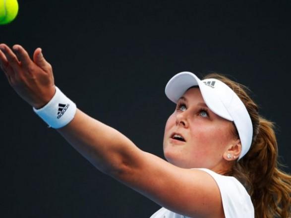 Українська тенісистка Катерина Козлова не змогла завоювати свій перший  титул WTA на змаганнях 1b87ad811ea31