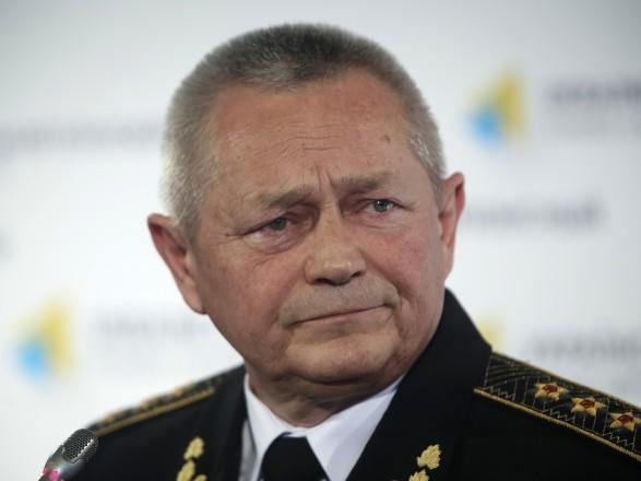 Екс-командувач ВМС України запевнив що віддавав наказ відкривати вогонь у Криму