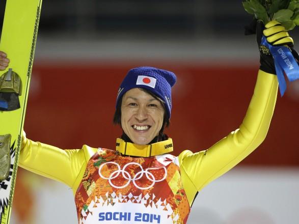 Японський стрибун налижах зтрампліна вже встановив рекорд Олімпійських ігор