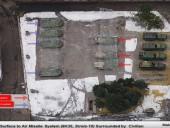 Беспилотник ОБСЕ зафиксировал 7 ракетных комплексов боевиков в жилых кварталах Макеевки