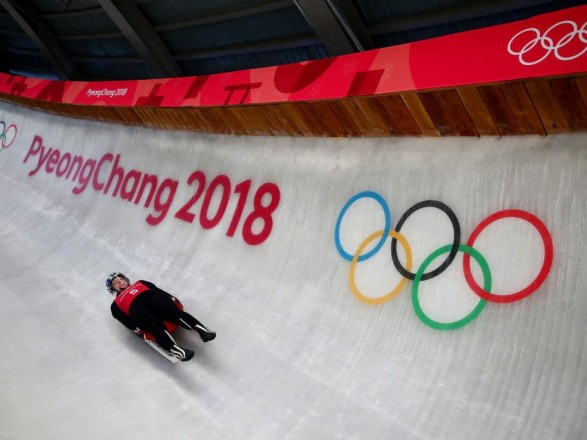 Олімпіада-2018: українські саночники стартували удвох заїздах