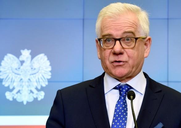 Голова МЗС Польщі висловив надію на вирішення історичної суперечки з Україною
