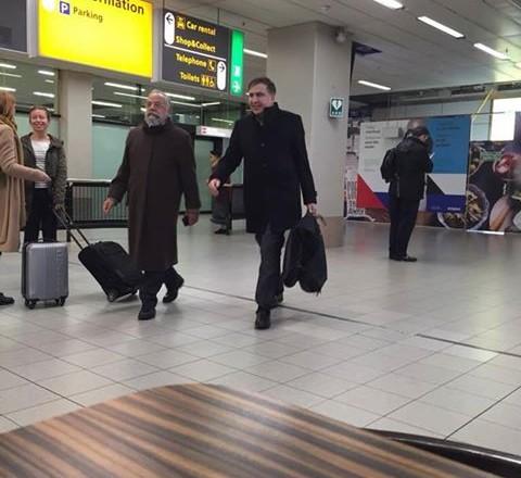 Саакашвілі заскочили ваеропорту Амстердама— нардеп