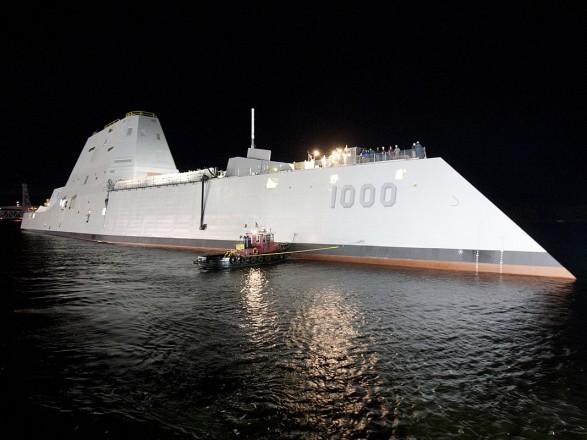 Defence News: Пентагон вирішив переозброїти свої новітні есмінці-