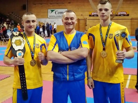 Українці вибороли дев'ять медалей на Кубку Європи з кікбоксингу