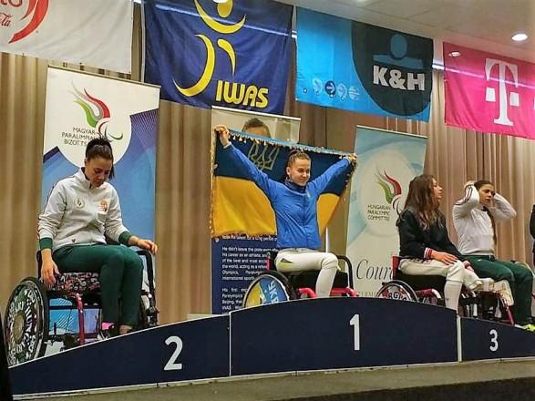 Паралімпійці з України здобули вісім нагород на Кубку світу з фехтування