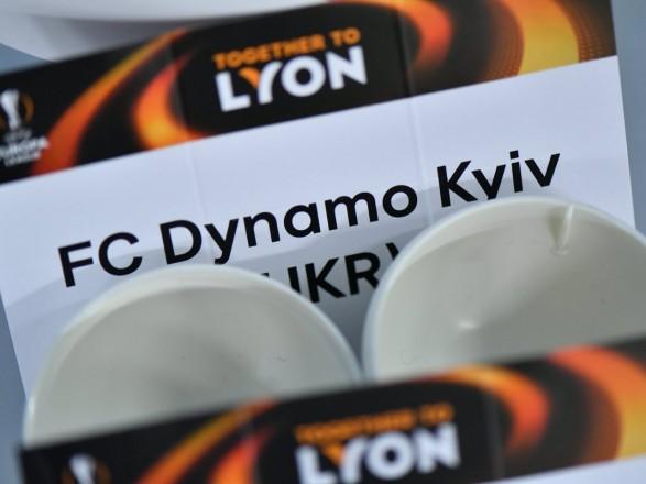 Київське «Динамо» зіграє зримським «Лаціо» в1/8 фіналу Ліги Європи