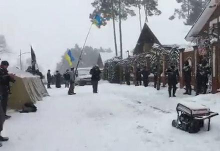 Соратники Саакашвілі оголосили про безстрокове пікетування будинку Луценка